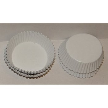 #601 White Candy Cups 80/pkg
