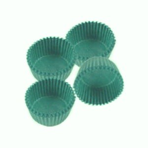 #6 Green Candy Cups 80/pkg