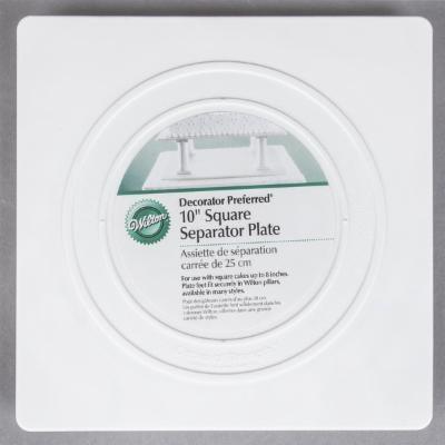 Wilton 10 Square Separator Plate