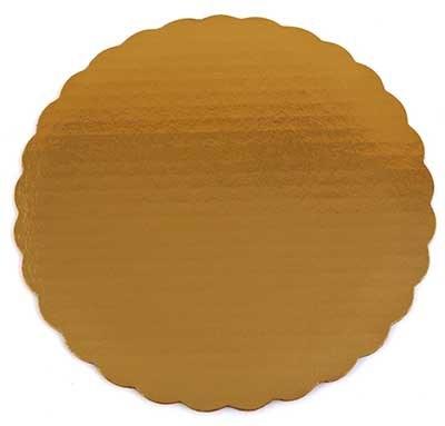 Gold Board 10' Scalloped 6/pkg
