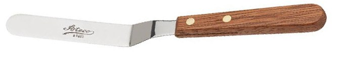 ATECO Spatula Offset Wood Handle
