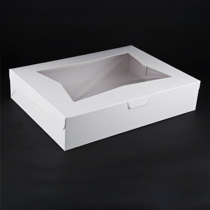 19'x14' Window Cake Box