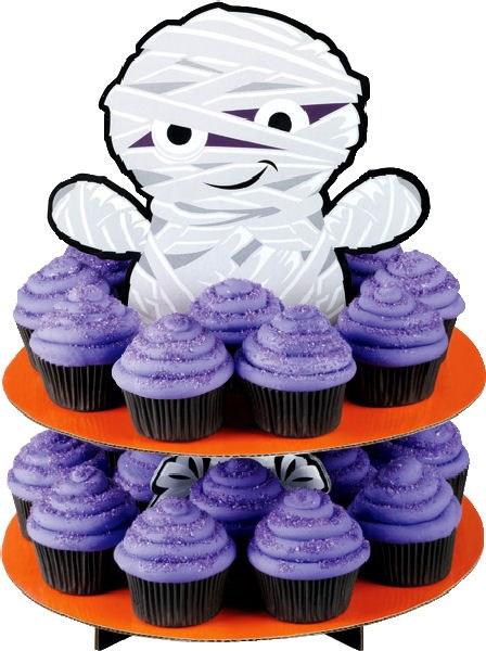 Wilton Mummy Cupcake Stand  (sale)