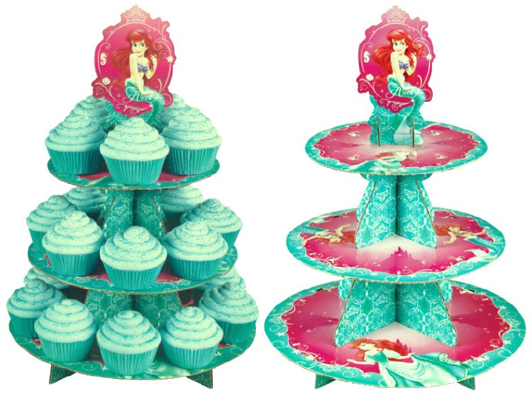 Wilton The Little Mermaid Cupcake/des