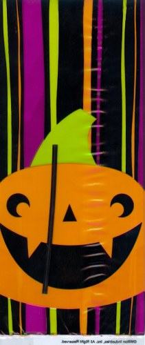 Wilton Party Bags: Pumpkin Stripe