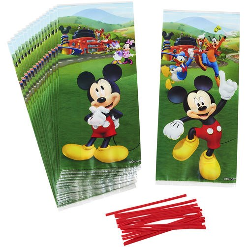 Wilton Mickey Roadster Treat Bags 16p