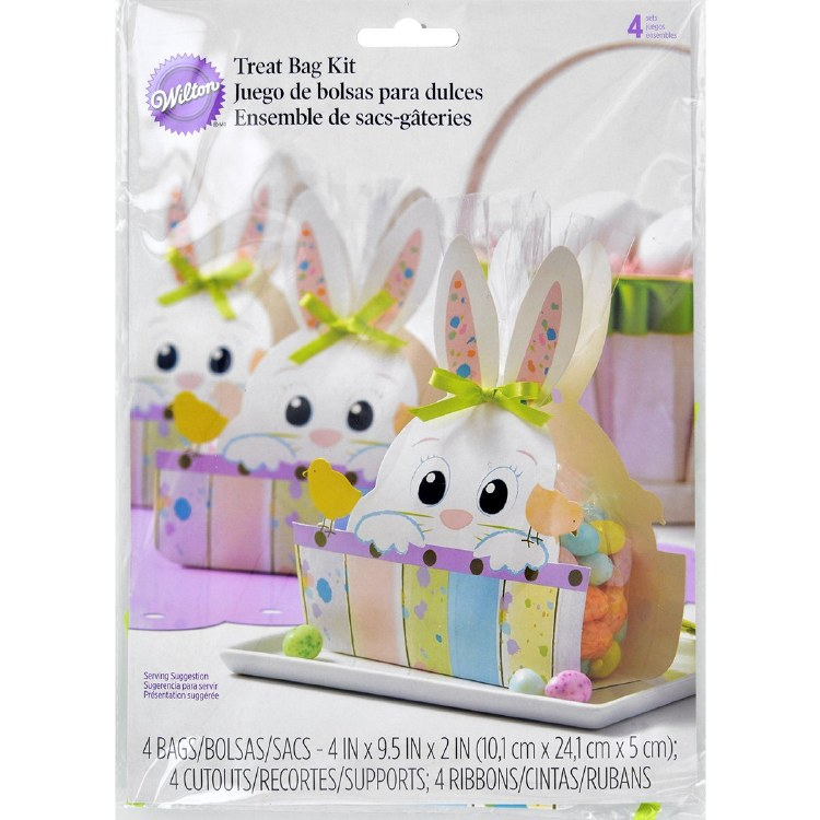 Wilton Easter Bunny Chic Treat Bags