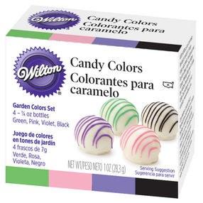 Wilton Garden Candy Colors Set: 1 Oz