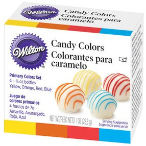 Wilton Primary Candy Colors Set 1 Oz