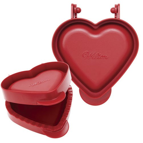 Wilton Mini Heart Pie Press