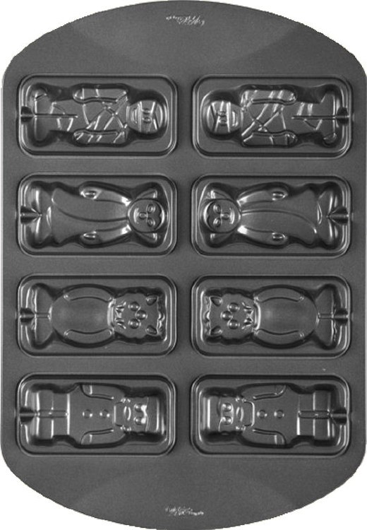 Wilton Monster Pops Cookie Pan 8cav