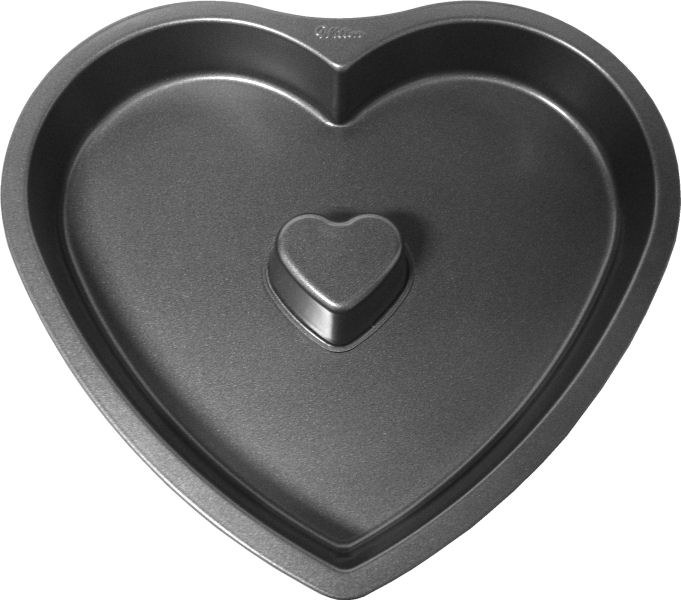 Wilton N/s Heart Fluted Pan