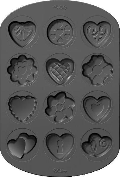 Wilton Valentines Shapes Cookie Pan