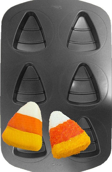 Wilton Mini Cake Pan: Candy Corn