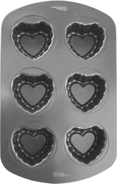 Wilton Mini Fancy Heart Pan
