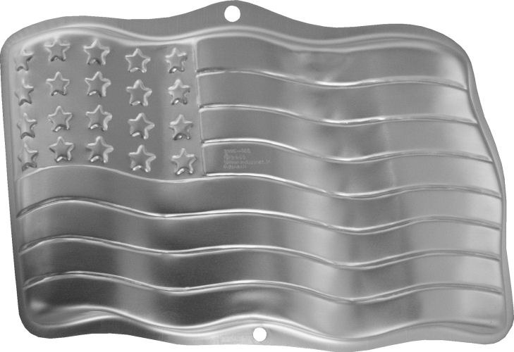 Wilton Stars & Stripes Cake Pan