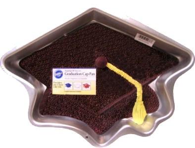 Wilton Graduation Cap Cake Pan