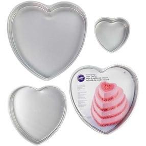 Wilton Cake Pan Set Heart 4 Ct.