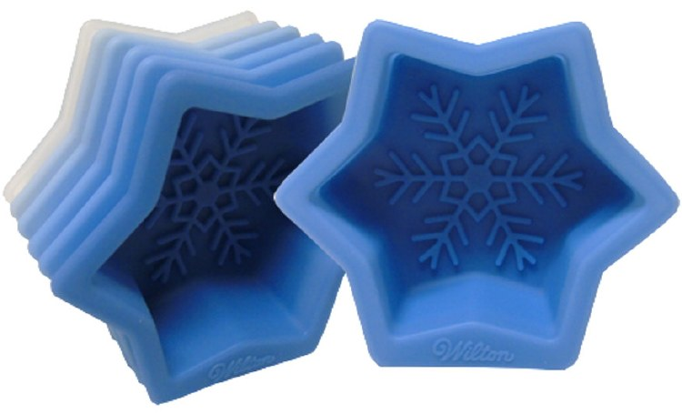 Wilton Single Snowflake Mold 6pc