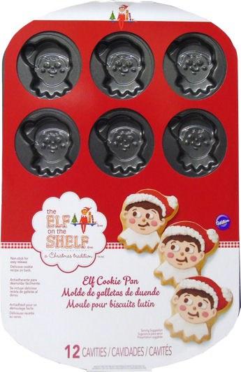 Wilton Elf On The Shelf Face Cookie P