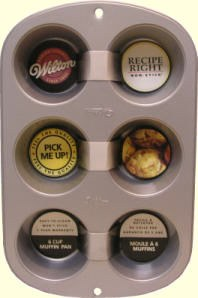 Wilton Rr 6 Cup Muffin Pan