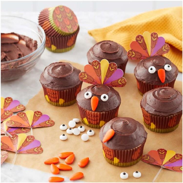 Wilton Turkey Cupcake Kit