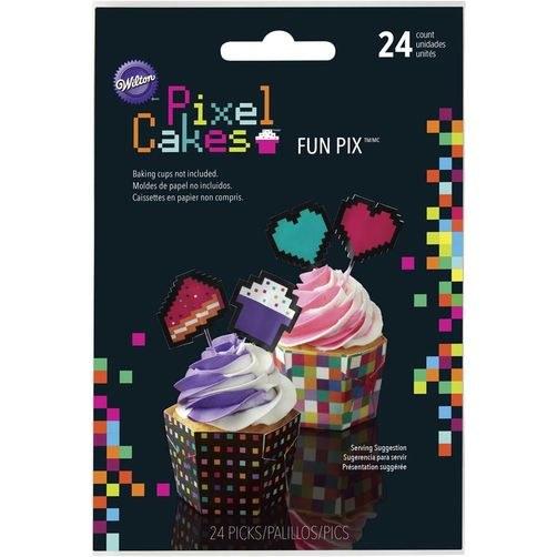 Wilton Picks: Pixel Cakes 24/pkg