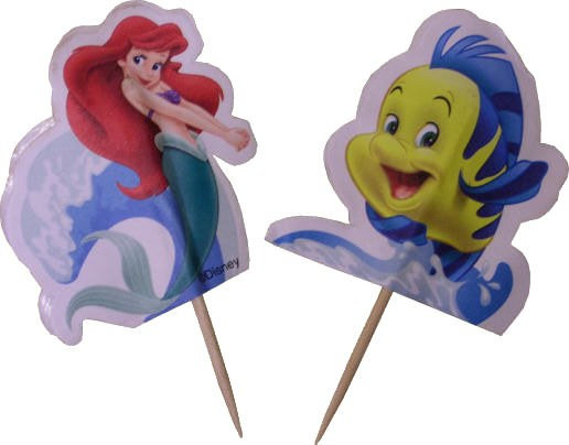 Wilton Ariel And Flounder Fun Pix