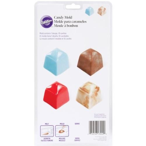 Wilton Square Candy Mold 10 Cav