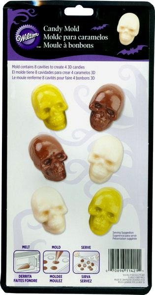 Wilton Wilton Skulls Mold
