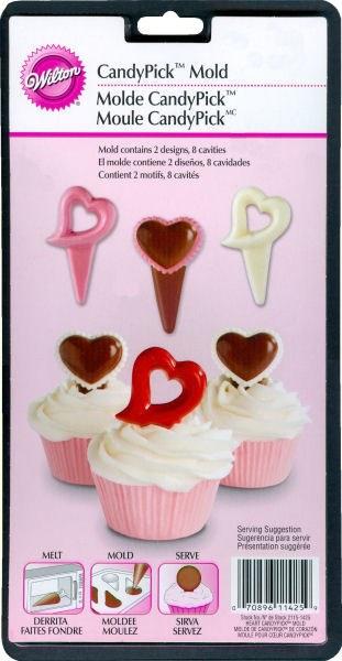 Wilton Valentine Heart Picks Mold