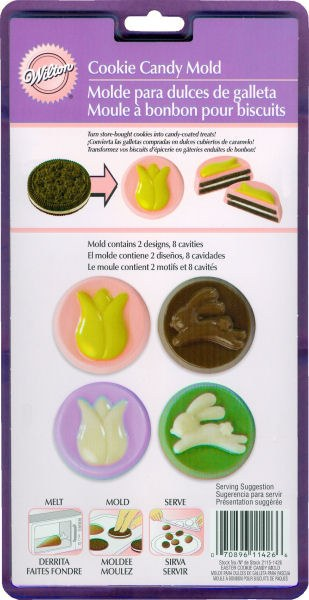 Wilton Easter Cookie Candy Mold