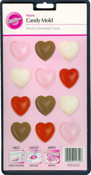 Wilton Heart Candy Mold