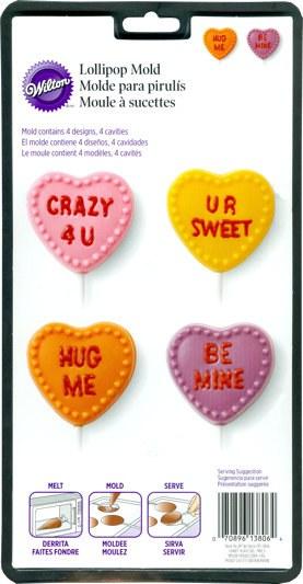 Wilton Conversation Heart Lollipop