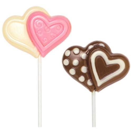 Wilton Valentine Double Heart Lollipo