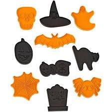 Wilton 10piece Halloween Cookie Cutte