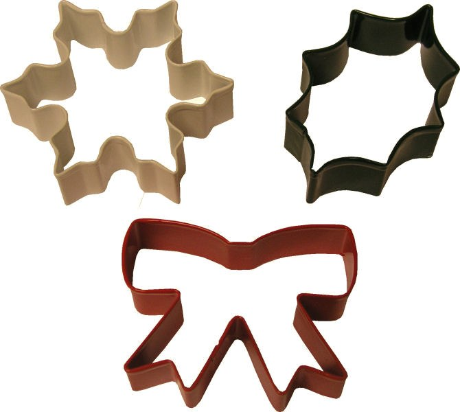 Wilton Snowflake Holly & Bow Cutter S
