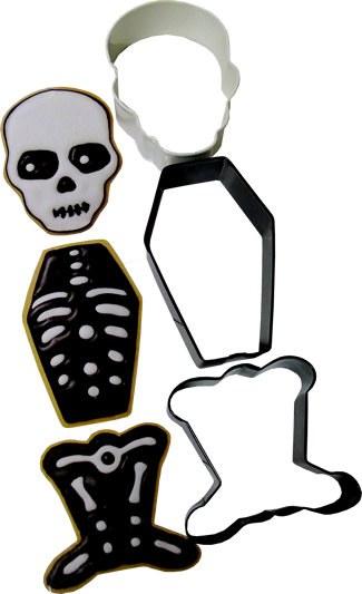 Wilton Cc Set Clr Mtl Skeleton 3pc