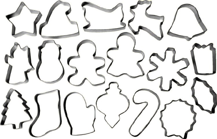 Wilton Holiday Cutter Set 18 Pc
