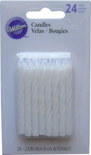 Wilton Candles: White 24/pk