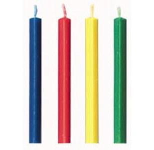 Wilton Candle: Rainbow Triangle Trick