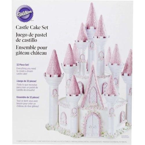 Wilton Romantic Castle Cake Set