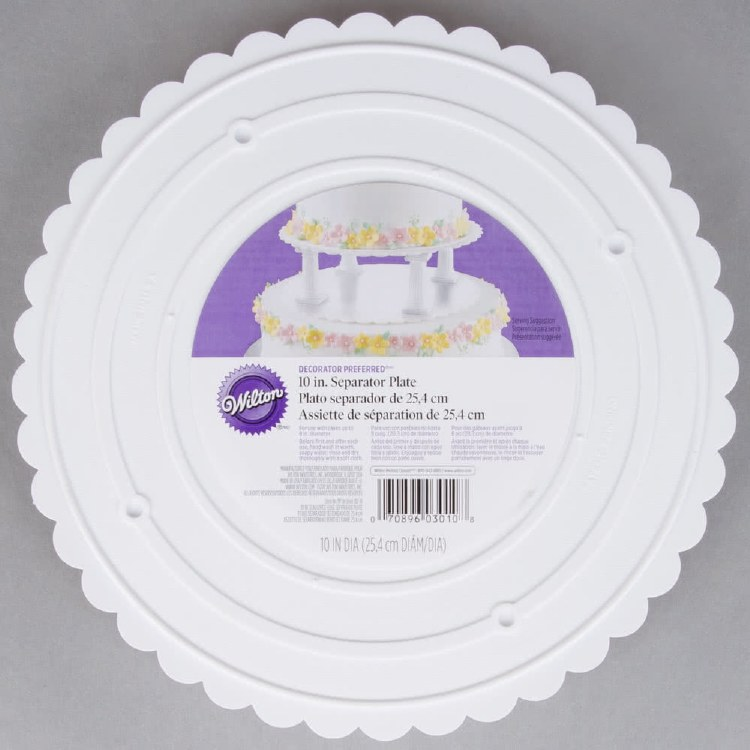 Wilton 10 Round Separator Plate