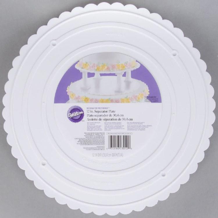 Wilton 12 Round Separator Plate