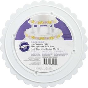 Wilton 8 Round Separator Plate