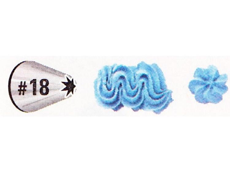 #18 Decorating Tip