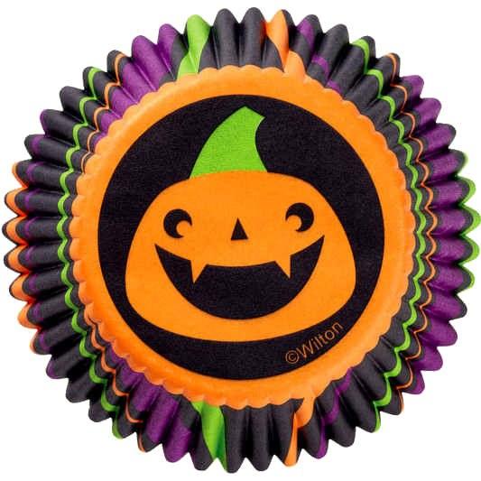 Wilton Baking Cups: Pumpkin Stripe