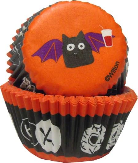 Wilton Baking Cup Mini Bats