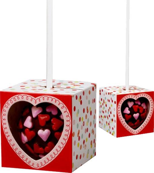 Wilton Valentine Cake Pop Boxes/12