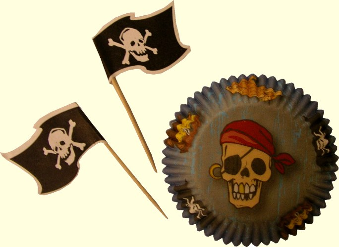 Wilton Pirate Cupcake Combo Pack/24